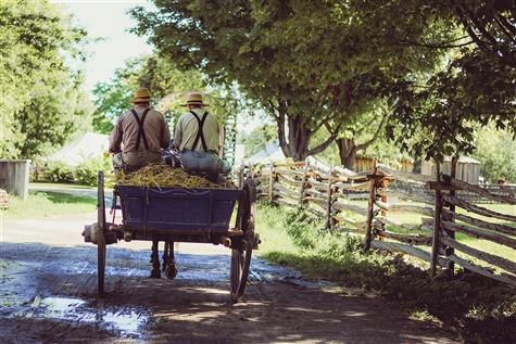 Amish Country Farmlands & Jesus