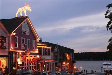 Idylic Bar Harbor, Maine