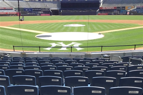 Baltimore Orioles vs. NY Yankees - Field Level