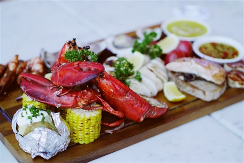 Lobster Feast at the Log Cabin