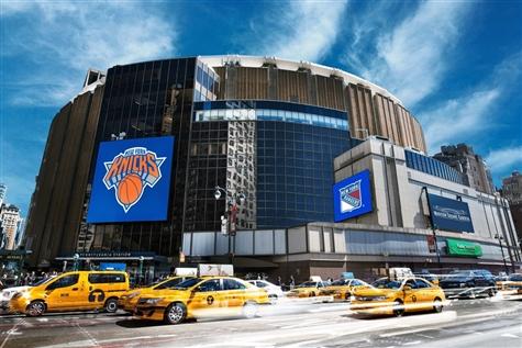 Los Angeles Lakers vs. New York Knicks