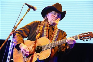 Willie Nelson at the Strawberry Festival
