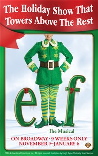 Elf the Musical (NYC Broadway Production)