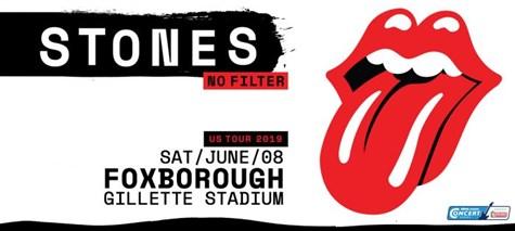 Rolling Stones at Gillette Stadium