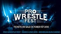 Pro Wrestle Fest at Mohegan Sun