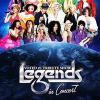 Legends in Concert at Foxwoods Casino