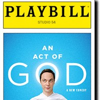 An Act of God (NYC Broadway Production)