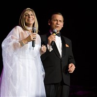 """Celebrate the Holidays Barbra and Frank Tribute"""