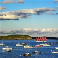 Idyllic Bar Harbor, Maine