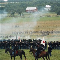 Gettysburg 155th Civil War Battle Reenactment