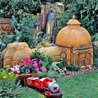 Holiday Train Show at the NY Botanical Garden