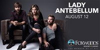 Lady Antebellum at Foxwoods Casino