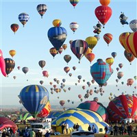 Judy's Journeys- Albuquerque Balloon Fiesta
