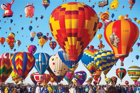 Albuquerque Balloon Festival & More!