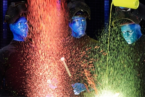 Blue Man Group at RP Funding Center