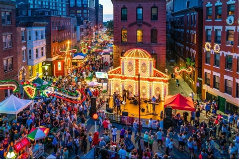 St. Anthonys Feast in Boston
