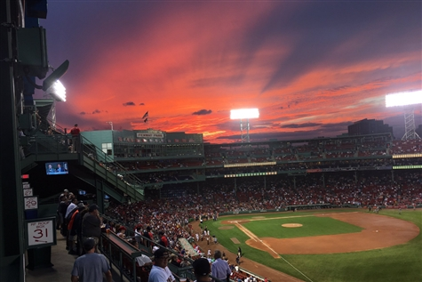 L.A. Angels vs. Boston Red Sox
