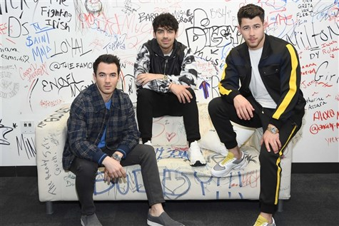 The Jonas Brothers at Madison Square Garden