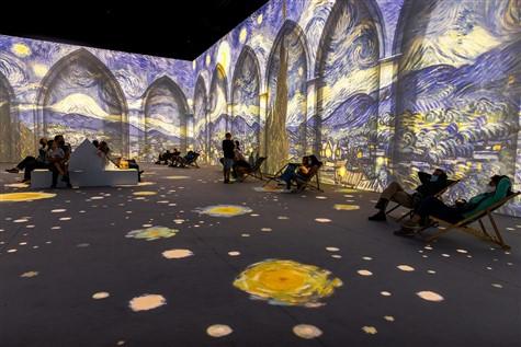 Van Gogh Exhibit Shuttle