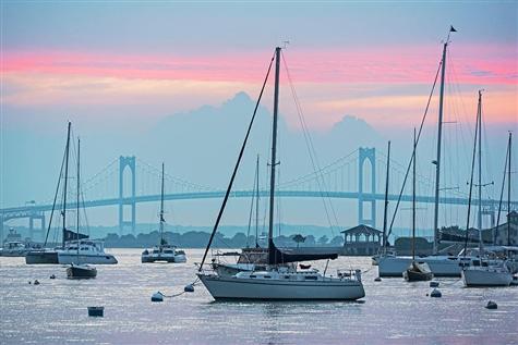 Summer in Newport, Rhode Island