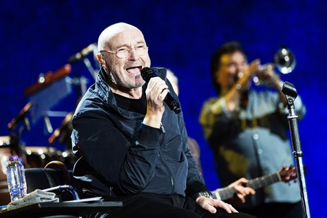 Phil Collins at Madison Square Garden