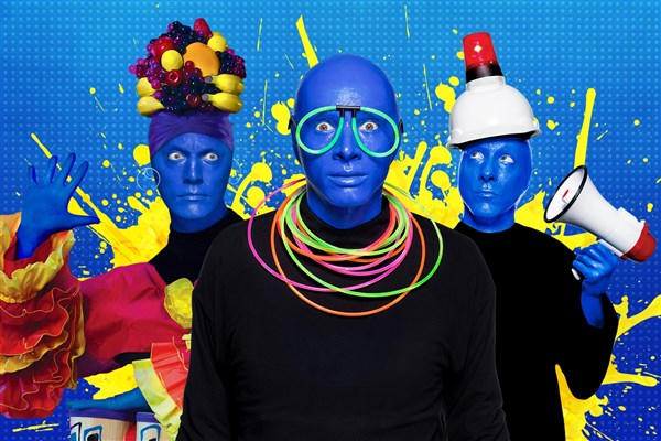 The Blue Man Group Amp Universal S City Walk